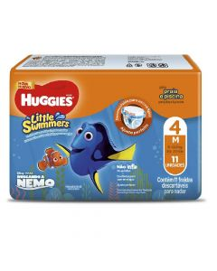 Pañal little swimmers huggies Mediano 11 Unidades
