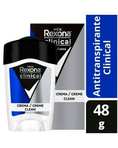 Rexona Desodorante Clinical Soft Solid Men x 48 g