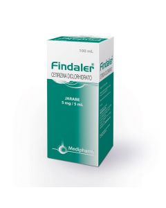 Findaler 5 mg/5 mL x 100 Jarabe