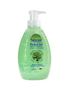 Nexcare Pocket Gel Para Manos Sin Enjuage x 340 mL Gel