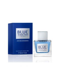Antonio Banderas Fragancia Blue Seduction For Men x 30 mL