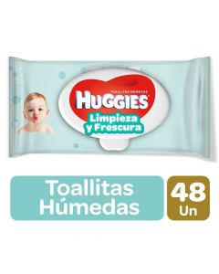 Huggies Toallitas Humedas One And Done x 48 Unidades