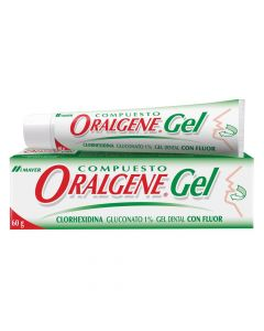 Oralgene Pasta Dental Gel x 60 g
