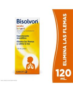 Bisolvon Infantil 4 mg/5 mL x 120 mL Jarabe