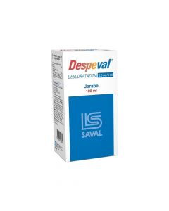 Despeval 2,5 mg/5 mL x 100 mL Jarabe
