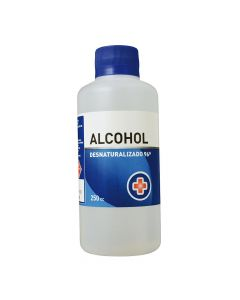 Alcohol Desnaturalizado 96 % x 250 mL Solucion Topica