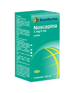 Noscapina 5 mg/5 mL x 100 mL Jarabe