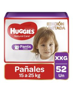 Huggies Pañal Pants Natural Care XXG x 52 Unidades