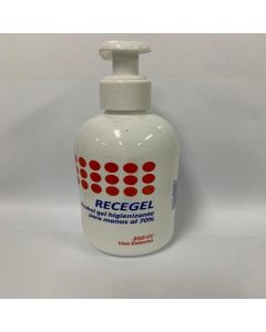 Recegel Alcohol Gel Higienizante Para Manos 70 % x 250 mL