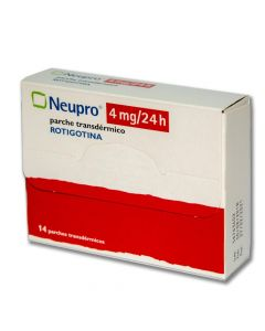 Neupro 4 mg/24 horas x 14 Parches Transdermicos