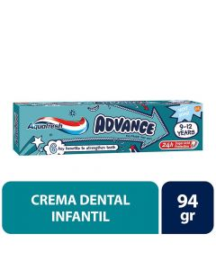 Pasta Dental  Advance 9-12 Años Kids.