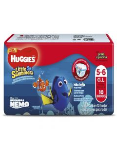 Pañal little swimmers huggies Grande 10 Unidades