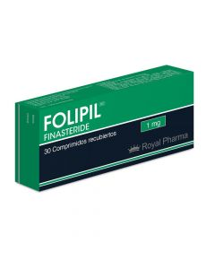 FOLIPIL 1MG. CAJA 30 COMP. REC.